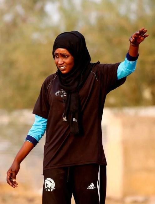 Afrique/Football: Un club masculin entraîné par une femme