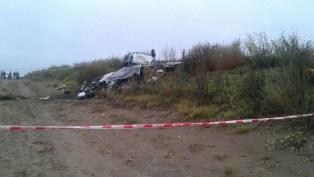 accidente de una avioneta en la pampa5 muertos