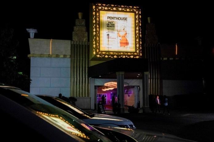 El Penthouse Club de Filadelfia donde actuó la porno star. AFP