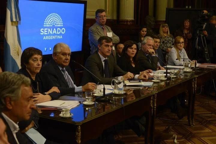 Senado comision tarifas foto Andres Delia