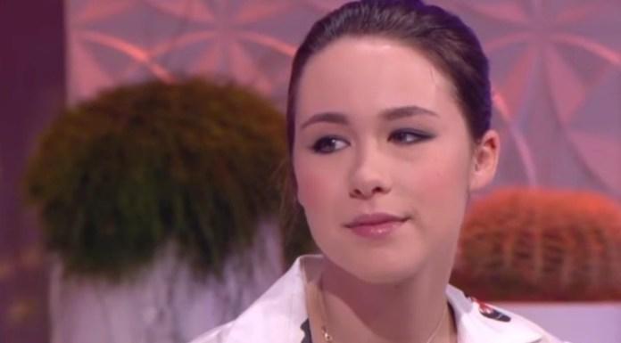 Aurora, la hija de Eros Ramazotti.