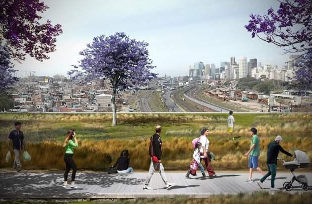 Objetivo. El edificio corporativo funcionará como un puente para conectar la Ciudad con el barrio.