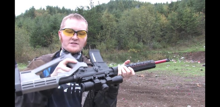 In America you can build your own rifle with a 3-D printer at home.