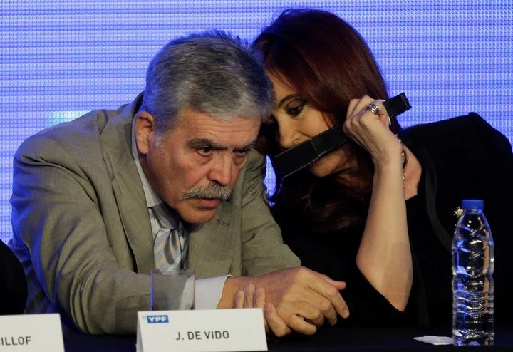 Cristina Kirchner irá a juicio junto a Julio De Vido. Foto Archivo.