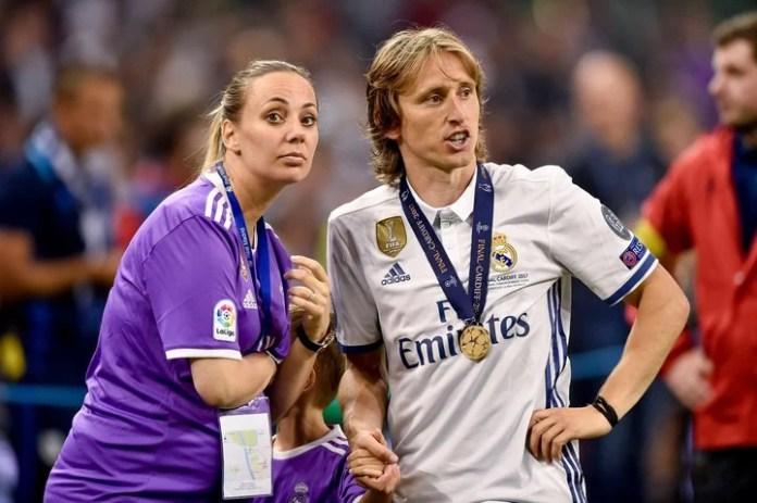 Luka Modric, elegido como Balón de Oro del Mundial, se iría del Real Madrid al Inter (DPA).