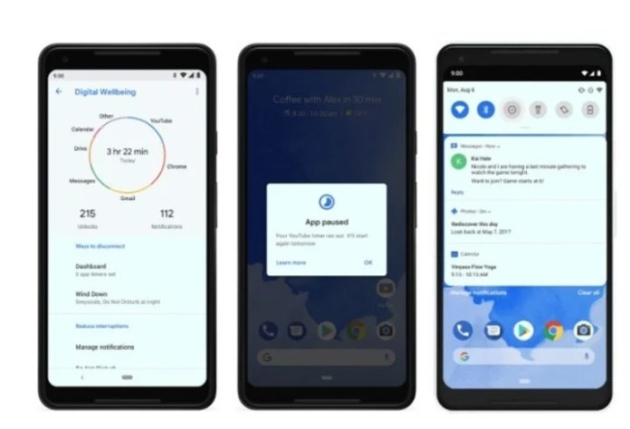 Android 9 Pie.