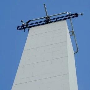 El Obelisco se prepara para la fiesta de apertura