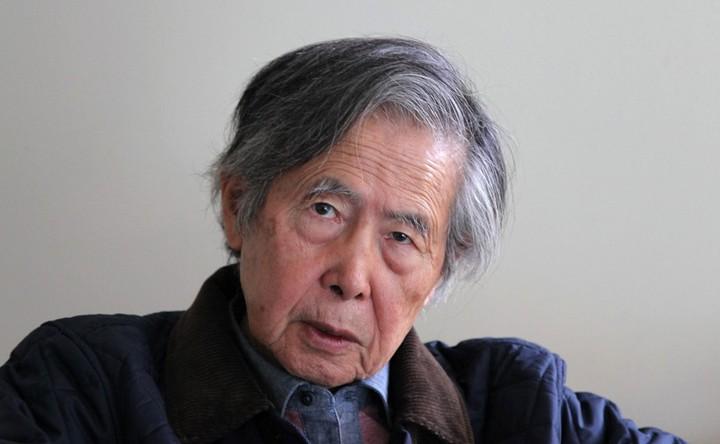 Keijo Fujimori promises to pardon his father, former President Alberto Fujimori, imprisoned for corruption and crimes against humanity.  Photo: AFP