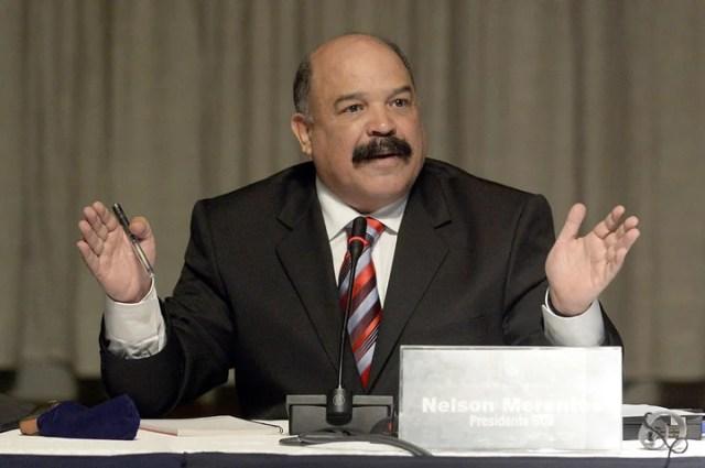 Nelson Merentes, ex presidente del Banco Central de Venezuela y, según Uberti, eslabón del chavismo en la cadena de corrupción durante el Gobierno de Néstor Kirchner. Foto AFP