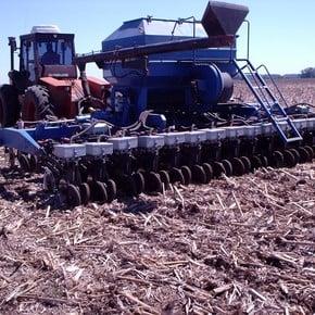 Field test: todos los detalles de la sembradora air drill para soja de segunda