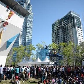 Una multitud copó los Parques olímpicos de Buenos Aires 2018