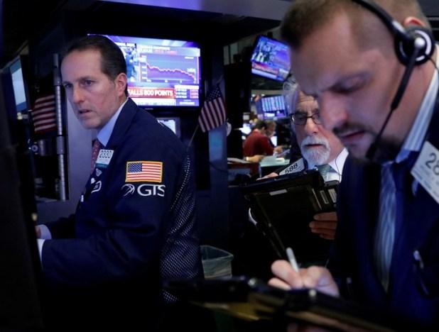 Operadores en Wall Street. / Reuters