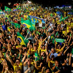 """Clara victoria de Jair Bolsonaro: """"Vamos a defender la democracia y la libertad"""""""