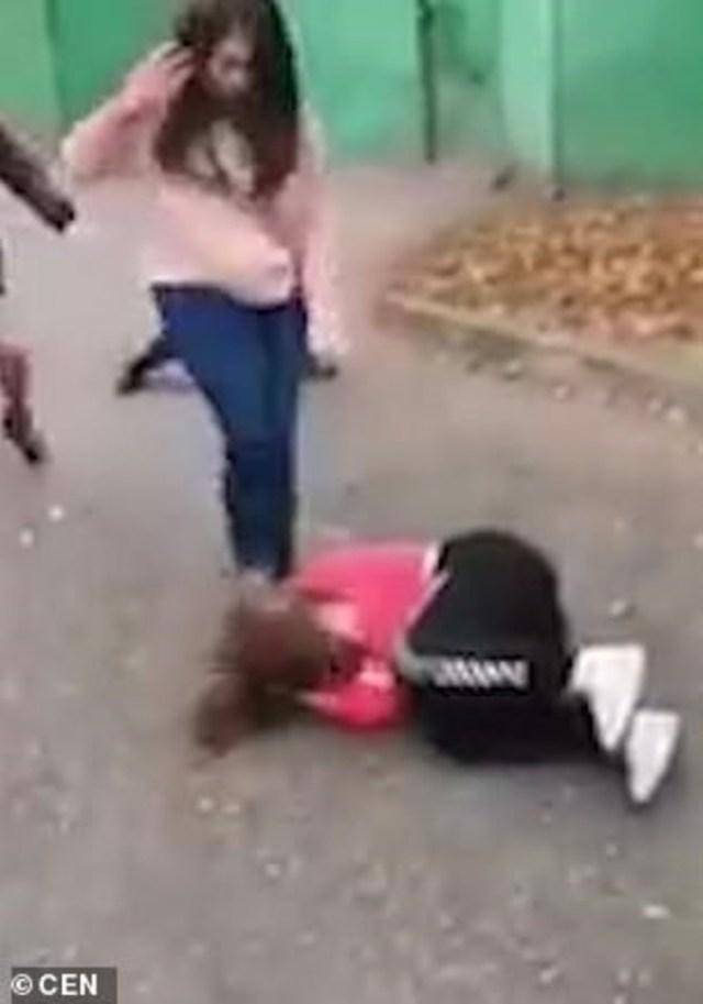 La más violenta del grupo de atacantes es Veronika Astapova, que también tiene 14.
