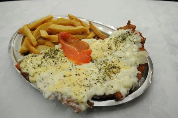 A la fugazzeta con cebolla y queso (Diego Díaz)