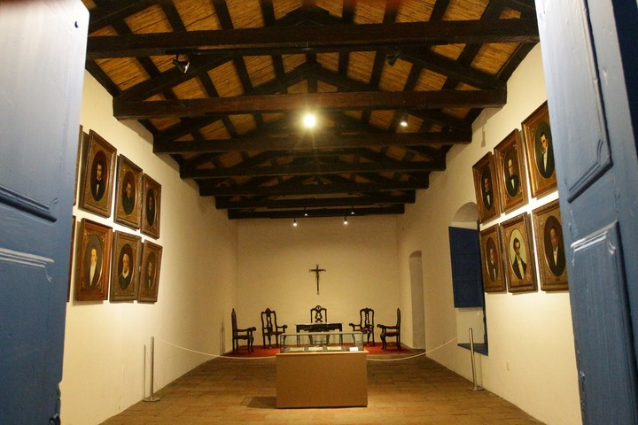 Interior of the Historic House of Tucumán.  / File