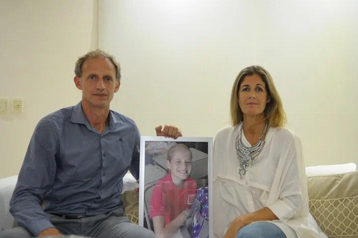 Los padres de Justina Lo Cane impulsaron la ley (Silvana Boemo)