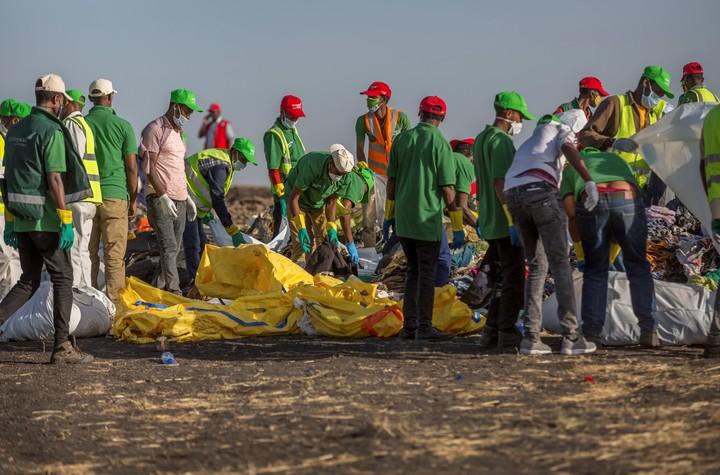 La tragedia del avión de Ethiopian Airlines Boeing 737 Max 8 que dejó 157 muertos.