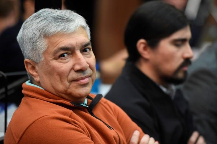 El empresario K Lázaro Báex y su hijo Martín acusado por corrupción.