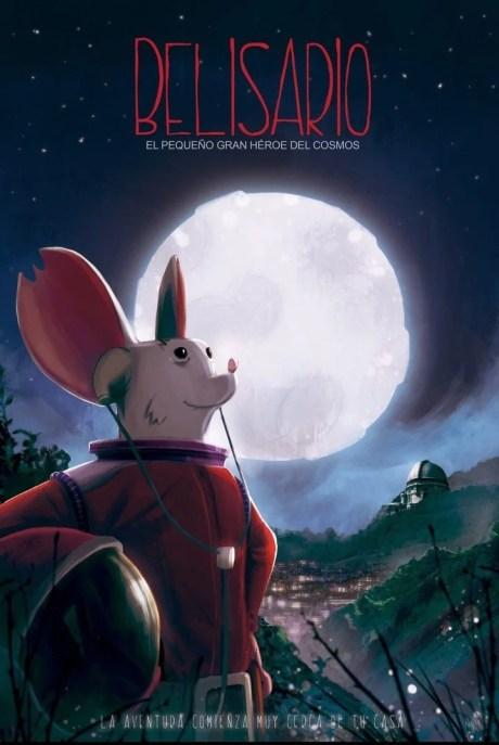 """""""Belisario, el pequeño gran héroe del cosmos"""", la historia de un ratón que viaja en el tiempo descubriendo los hitos nacionales en torno a la astronáutica"""