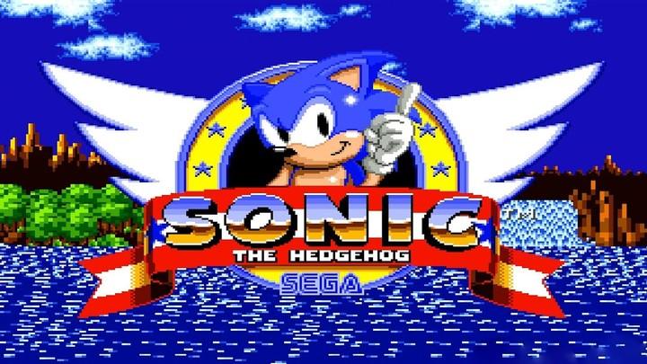 Sonic the Hedgehog, en su primer juego que llegó a las consolas Megadrive y Master System en 1991.