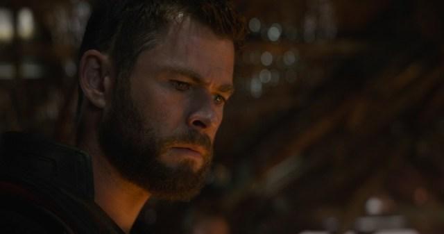 Thor, una vez más en el cuerpo de Chris Hemsworth. o al revés.