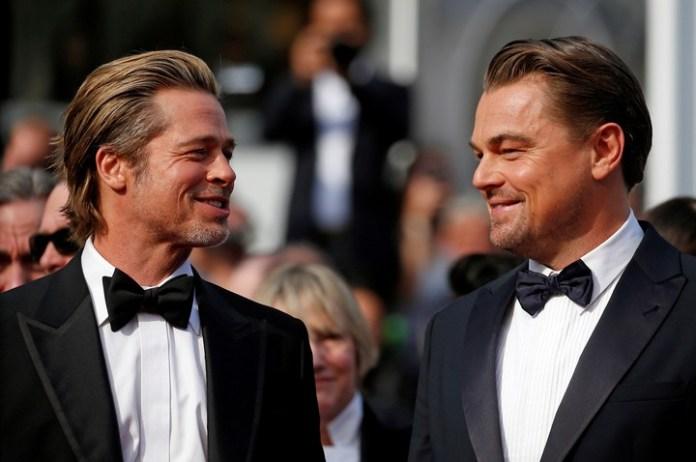 """Sonrisas. Los actores principales del noveno filme del director de """"KIll Bill"""". REUTERS/Stephane Mahe"""