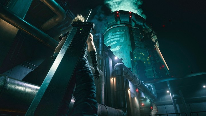 Final Fantasy VII (Remake), one of the most successful games in the Japanese saga.  Photo Square Enix