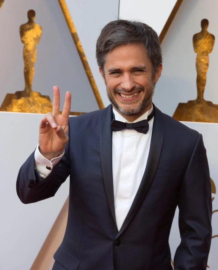 Gael García Bernal was his partner.  And she came to look for him in Buenos Aires.  Photo EFE