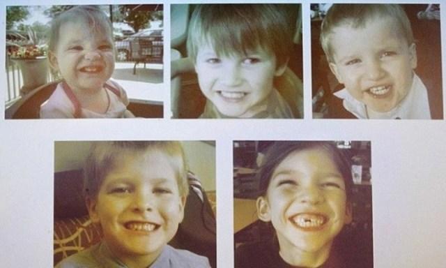 Las fotos de los cinco chicos de la familia Jones. (Foto: MCT)