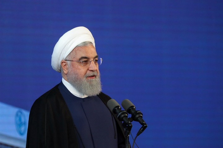The moderate Hassan Rohani will leave the presidency of Iran in August.  Photo: EFE