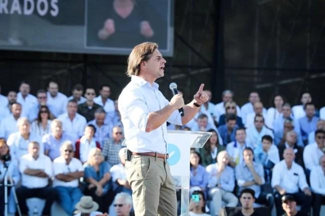Luis Lacalle Pou, del Partido Nacional. EFE