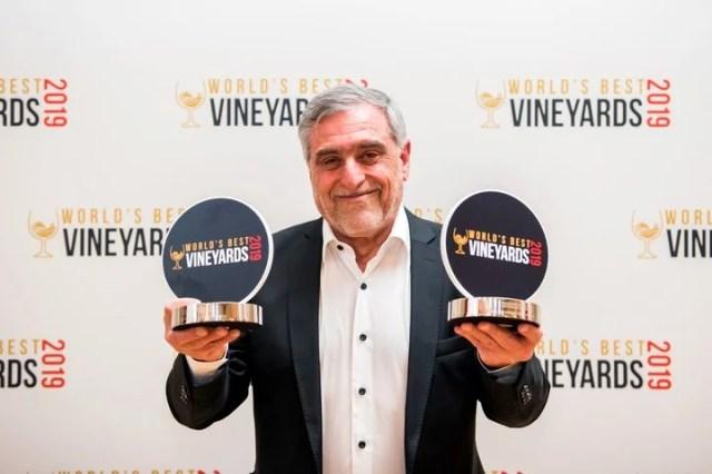 José Alberto Zuccardi recibió el premio en Londres.