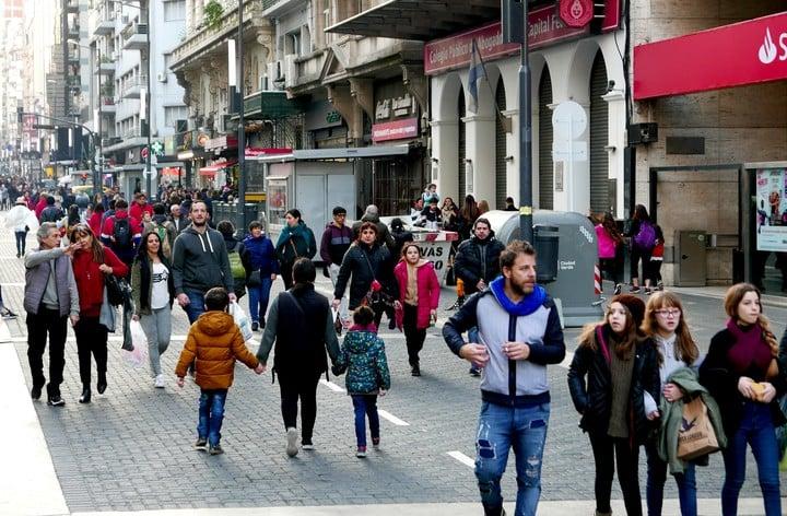 La región metropolitana de Buenos Aires (ciudad de Buenos Aires y  el Conurbano) está en cuarto lugar. (Foto: Martín Bonetto)