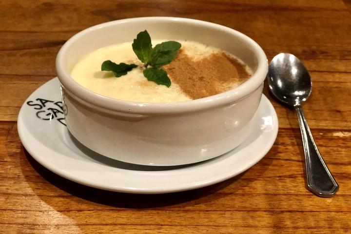Mazamorra is a very nutritious dessert.