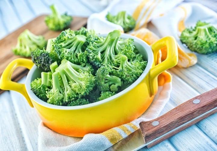 El brócoli es un vegetal de invierno.