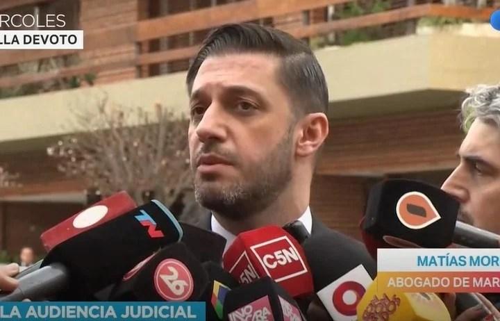 Matías Morla se reunió con José Nuñez, el abogado que pide el ADN para Santiago Lara, quien sería el sexto hijo de Diego Maradona.