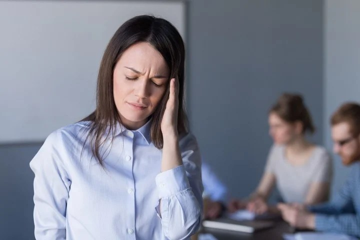 In migraine, the intense, throbbing pain usually occurs on only one side of the head.