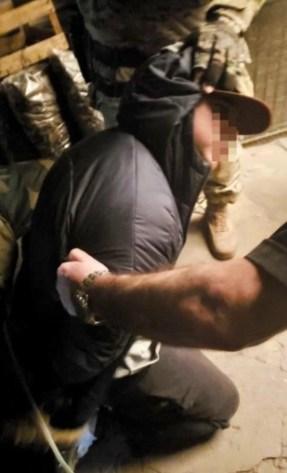 El detenido por el asalto y toma de rehenes en un vivero de Rafael Calzada.