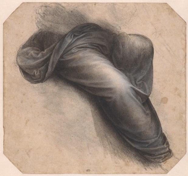 """""""Estudio para Santa Ana, el manto de la Virgen"""" © RMN-Grand Palais (musée du Louvre) Michel Urtado"""