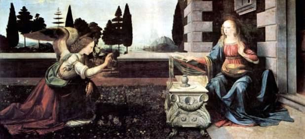 """""""La Anunciación"""" (1472)"""