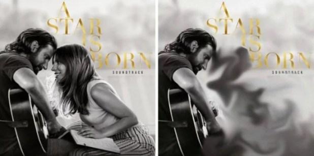 """""""A Star Is Born Soundtrack"""" Lady Gaga y Bradley Cooper (Instagram)."""