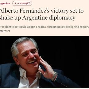 """Para el Financial Times, """"Argentina se encuentra al borde del noveno incumplimiento de la deuda soberana"""""""