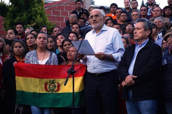 Carlos Mesa, el principal candidato opositor. (EFE)