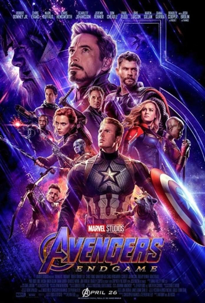 The poster of Avengers: Endgame (2019).