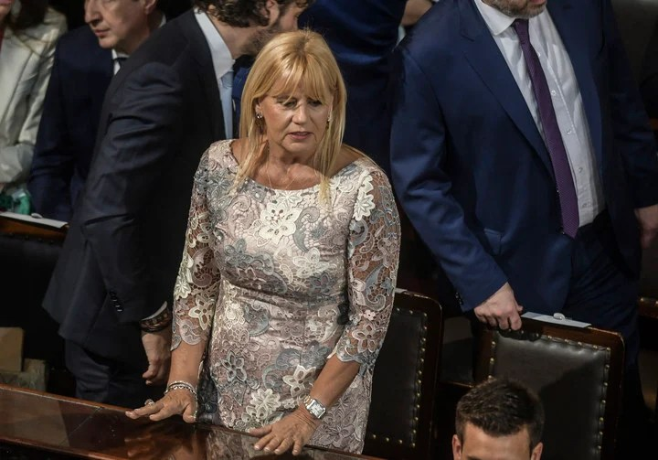 """If the statement of Marcela Losardo is approved, she will occupy the position of ambassador to UNESCO, which was left vacant after the death of Fernando """"Pine tree"""" Solanas.  Photo Federico Lopez Claro."""