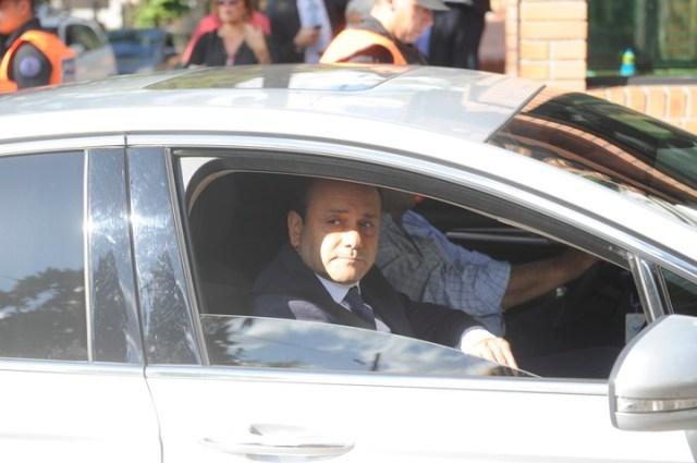Oscar Herrera Ahuad ingresa a la Quinta de Olivos para la reunión con el presidente Alberto Fernández y el resto de los gobernadores por el coronavirus. Foto: Juan Manuel Foglia