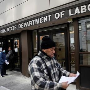 Coronavirus en Estados Unidos: se disparan los pedidos para acceder al subsidio por desempleo