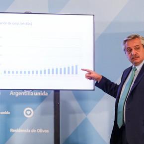 Coronavirus en Argentina: la encuesta de un funcionario K muestra cómo le pegaron a Alberto Fernández las colas de jubilados y los sobreprecios en alimentos