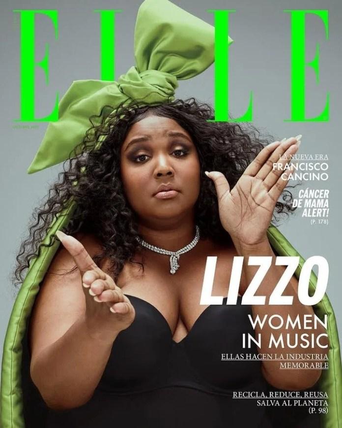 Girl of cover. In the September issue of Elle US.